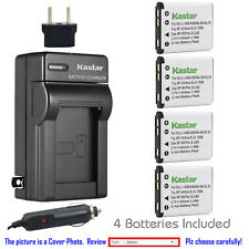 Kastar Battery AC Charger for Fuji NP-45 NP-45S BC-45B Fujifilm FinePix Z20fd