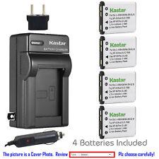 Kastar Battery Travel Charger for Nikon EN-EL10 MH-63 & Nikon Coolpix S520