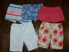 Gymboree and Crazy 8 Girls Shorts Size 10 Lot of 5