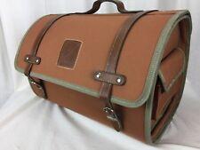 Vespa Piaccio Scooters Classic Soft Top Box Luggage Storage Bag Brown Container