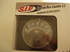 SIP Series 1 / 2 Lambretta digital speedo rev counter fuel warning black(3LD102)