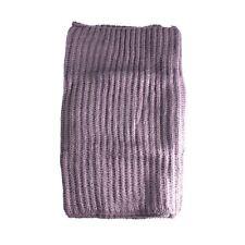 Mens Smokey Blue Fashion Knitted Snood