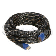 25FT HDMI Cable Cord Audio Wire Bluray DVD XBOX PS 3 4 Wii U 360 LCD HD TV1080P