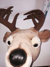 Cerbiatto Cervo Renna Peluche Giocattolo morbido Orsacchiotto per Natale da appendere muro di visualizzazione