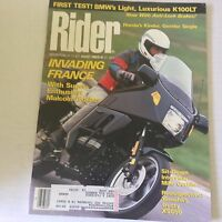 Rider Magazine Invading France Malcolm Forbes August 1989 060117nonrh3