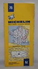 France - Michelin 1:200,000 Map - Bordeaux, Tulle - Sheet 75 - 1982
