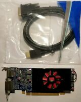 Dell AMD Radeon HD 7570 1GB DVI to HDMI Cable Full or SFF Windows 10 Video Card