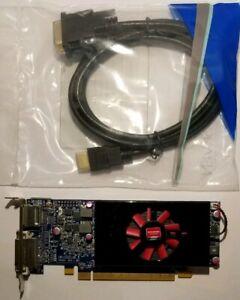 Dell AMD Radeon HD 7570 1GB GDDR5 DVI HDMI Cable SFF Windows 10 Video Card