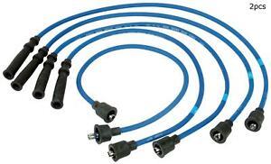 For Geo Tracker  Suzuki Sidekick  Asuna Sunrunner Set of 2 Spark Plug Wire Set