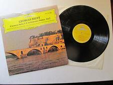 """Bizet Carmen Suite 1 L'Arlesienne 1 & 2 12"""" Lp BPO Karajan DG 2530 128 UK 1971"""