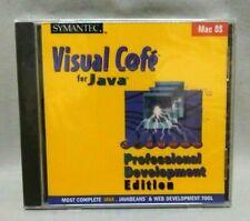 Symantec Visual Cafe For Java 2.0 Professional Development Edition Mac OS SEALED