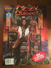 OZZY OSBOURNE # 1 FINE MALIBU COMICS 1993 OVERSIZED COMIC NEWSSTAND COPY HTF
