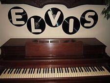 BOY BABY NAME Dylan Logan Caleb Kevin Jacob 5 Vintage Record Album Sign Letters