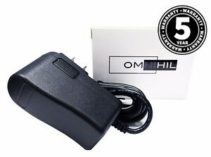 OMNIHIL (8FT) 9 Volt 1.5 Amp Power Adapter Regulated Power Supply Wall Plug