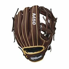 Wilson A450 Youth Baseball glove 11.5 Inches Right Hand Throw