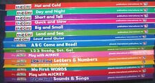 """15 HC """"MY FIRST SMART PAD"""" BOOKS: 7 ERIC CARLE & 8 MICKEY MOUSE CLUBHOUSE: EUC"""