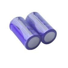 Portable 2pcs 3.7V 3000mAh 16340 Rechargeable Li-ion Batteries for flashlight