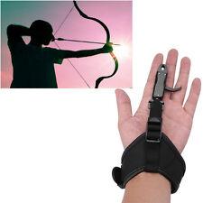 Archery Adjustable Release Aid Caliper Wrist Buckle Strap Compound Arrow Bow AF