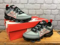 NIKE AIR UK 5.5 EU 38.5 VAPORMAX BLACK RED TRAINERS CHILDRENS LADIES RRP £100 LB