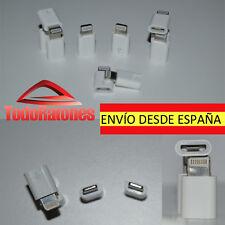 ADAPTADOR PARA IPHONE 5 5C 5 S DE MICRO USB A LIGHTNING 8 PIN de microusb a ipod