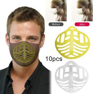 10Pcs 3D Face Mask Cover Bracket Inner Support Frame Holder Stand BreathingSpace
