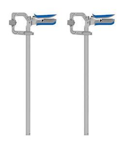 "SET of 2 - Kreg KSC16 16"" Auto-Adjust Automaxx Bar Clamp Ergonomic Padded Grip"