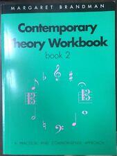Contemporary Theory Workbook: Book 2 by Margaret Brandman (Paperback, 2001)