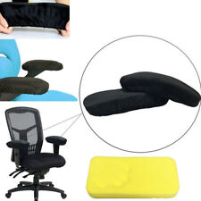 Memory Foam Armrest Cushion Pads Elbow Arm Rest Cover Chair Armrest Pads