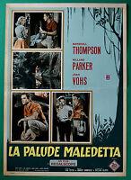 T18 Fotobusta Die Swamp Verdammt Marshall Thompson Willard Parker Joan Vohs 1