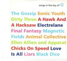 (FP919) Songs In The Key of B, 13 tracks various artists - Plan B Magazine CD