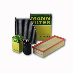 MANN-FILTER Air Oil Cabin FiltersRAPKIT065 fits Skoda SUPERB 3T4 1.8 TSI