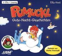 PUMUCKL GUTE-NACHT GESCHICHTEN (2 AUDIO-CDS) - PUMUCKL  2 CD NEU