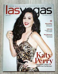 Las Vegas Magazine Featuring Katy Perry - Brand new