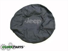 2013-2017 Jeep Wrangler Tire Cover Black Jeep Logo MOPAR GENUINE OEM BRAND NEW