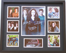 New Twilight Eclipse Pattinson Stewert Signed Limited Edition Memorabilia