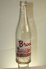 Brookville, PA Brook Sparkling Beverages Soda Bottle 12 oz ACL