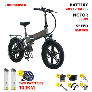 JINGHMA R6S e Bike Elektro Fahrrad 800W 48V 12.8AH LI Batterie Electric Fat Bike
