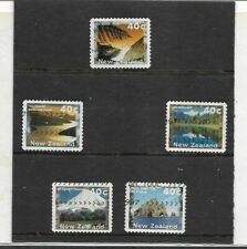 Nueva Zelanda Paisajes Naturales Serie del año 1996 (EX-725)