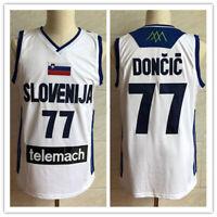 Vintage Luka Doncic #77 Slovenija National Basketball Jerseys Christmas Shirts