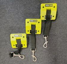 Lot of 3 - Ryobi P922 LANYARD STRAP Hanger One+ 18V Tool Holder