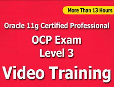 Oracle 11g Certified Professional OCP Level 3 Video Training Tutorial CBT 13 Hrs