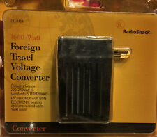 Radio Shack Foreign Travel Voltage Converter 1600 Watt 273-1404