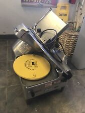 Berkel 818 Food Slicer Used With Blade Sharpener Guard Amp Tray Automatic