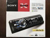 Sony CDX-GT700HD FM/AM HD Radio DIGITAL MEDIA CD PLAYERBrand New!