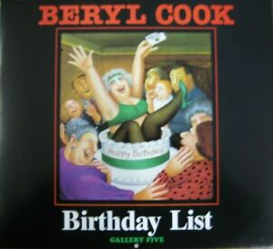 BIRTHDAY LIST (CALENDAR) by BERYL COOK