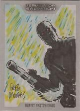 "Terminator Salvation - Greg Moutafis ""T-600"" Sketch Card"