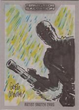 """Terminator Salvation - Greg Moutafis """"T-600"""" Sketch Card"""