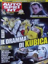 Autosprint 6 2011 Gravissimo incidente di Robert Kubica  [SC.49]