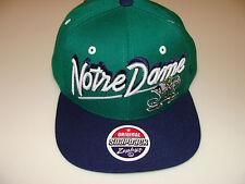 2011-12 Zephyr Notre Dame Irish  Snapback Cap Hat NCAA Basketball Shadow Script