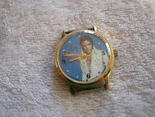 1977 Unique Time Elvis Presley Watch 17 Jewels